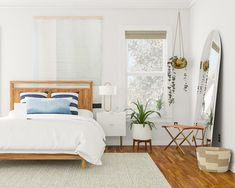Modern Bedroom Inspiration + 4 Reasons To Love Natural Fiber Rugs Natural  Fiber Rugs, Natural
