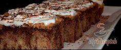Recept Csokoládé- és banánpudingos szelet LISZT NÉLKÜL Dairy Free Recipes, Gluten Free, Salty Snacks, Healthy Cake, Banana Bread, Cake Recipes, Deserts, Food And Drink, Cooking Recipes