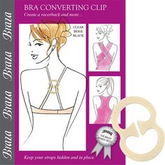 Bra Converter Clip Hide Bra Straps Convert to Racerback  //Price: $ & FREE Shipping //     #shoes #style #heels #fashion #womenshoes
