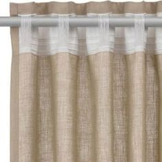 Sensational patio door drapes - look at our content article for a whole lot more tips and hints! No Sew Curtains, Home Curtains, Curtains With Blinds, Kitchen Curtains, Valance Curtains, Curtain Patterns, Curtain Designs, Recycled House, Curtain Styles