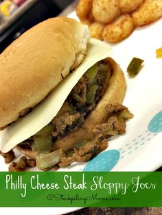 Philly Cheese Steak Sloppy Joes Recipe is a fun twist on the traditional version.