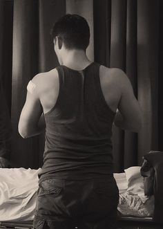 From My Bloody Valentine - awful movie, but what a beautiful back!
