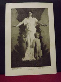 Circa 1930's  Print on Original Vintage Paper by TreasuresFromUs