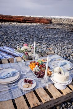 A romantic beach elopement on the Washington coast.