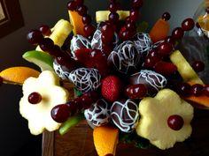 Canasta de frutas grande