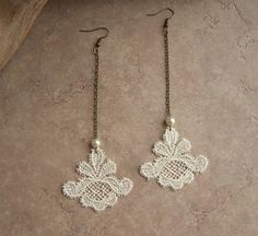 These are so pretty. I'm in LOVE with lace. These would look gorgeous with the right outfit.