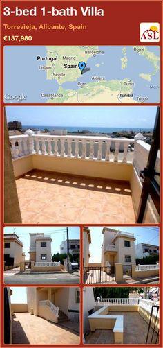 3-bed 1-bath Villa in Torrevieja, Alicante, Spain ►€137,980 #PropertyForSaleInSpain