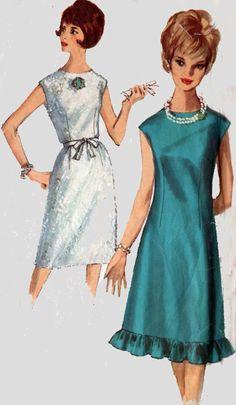 Vintage 60s Simplicity 5534 Womens MadMen A-Line by sandritocat
