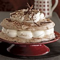 Hot Chocolate Meringue Cake