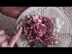 Wild Orchid Crafts - Love altered embroidery hoop - YouTube