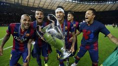 As melhores imagens de Neymar na temporada 2014/15   FC Barcelona