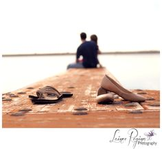 Romance on the docks... Engagement pictures or Beloved Session.