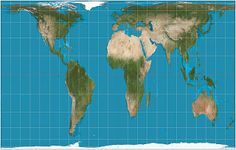 The Gall-Peters projection......why do we no use this