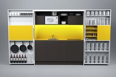 HPL mini kitchen PIA web by Dizzconcept by Inkea | design Darko Špiljarić