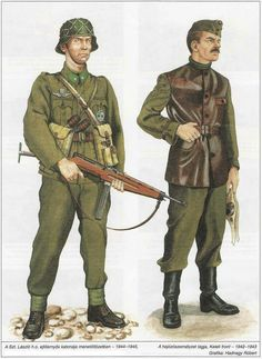 Troops Military Art, Military History, Army Drawing, Ww2 Uniforms, Military Uniforms, Central And Eastern Europe, Ww2 History, Austro Hungarian, Army Uniform