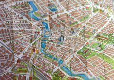 """Eskişehir'de en çok yolunuzun düşeceği """"cadde""""lerin haritası..."""