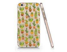 Cactus Transparent Plastic Phone Case for iphone 6 6s _ S...
