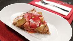 Rebarborovo-jahodový koláč (videorecept) - recept | Varecha.sk French Toast, Breakfast, Food, Basket, Breakfast Cafe, Essen, Yemek, Meals
