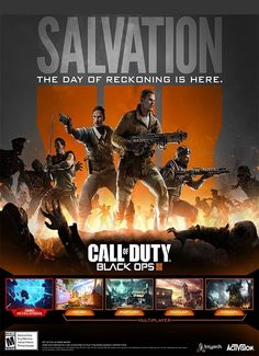 [PC Multi] Call of Duty : Black Ops III Salvation DLC – RELOADED – Game Télécharger