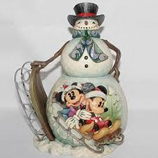 Jim Shore Disney Snowman