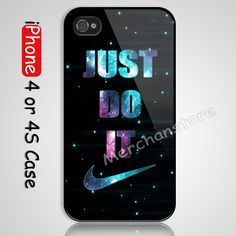 Just Do It Sparkle Custom iPhone 4 or 4S Case Cover,cool iphone cases ,best iphone cases,girly iphone cases,iphone 4,case,cool phone cases,best iphone 4 case
