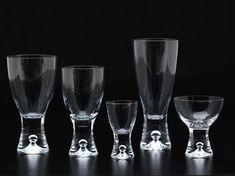 Tapio by Tapio Wirkkala Foundation, Art Deco, Glass, Collection, Design, Drinkware, Corning Glass, Foundation Series