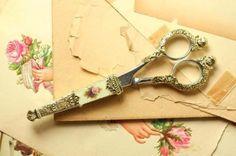Antique Rose Scissors...