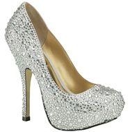 Benjamin Adams Rio Silver Evening Shoes