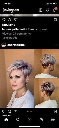 Short Wavy Haircuts, Funky Short Hair, Latest Short Hairstyles, Short Brown Hair, Mom Hairstyles, Short Hair With Layers, Cute Hairstyles For Short Hair, Short Hair Cuts For Women, Short Hair Trends