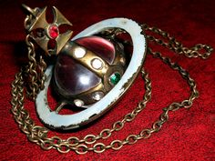 The Story of The Orb necklace by Vivienne Westwood
