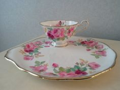 Princess Anne Bone China England Tea Cup and by oldfashionbling