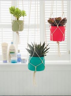 Hard plastic tubs that once held your favorite lotions and other potions can be remade into the perfect pots for plants. Learn how at caretorecycle.com! #CARETORECYCLE