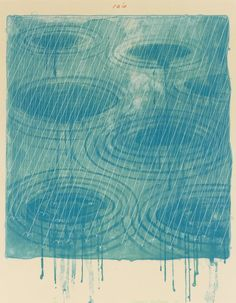 David Hockney Rain, 1973