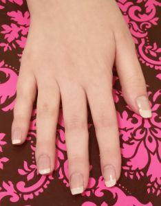 https://makeupwisdom.wordpress.com/2015/03/18/tutorial-diy-french-manicure-with-video/ #frenchmanicure #diyfrenchmanicure #howtodoafrenchmanicure #americanmanicure #naturalnails #whitetips #frenchmanicuretutorial