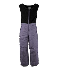 Take a look at this Sapphire Zip-Front Bib Pants - Toddler & Girls on zulily today!