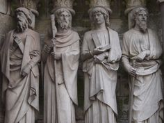 The Sculptures, St.Fin Barre's Cathedral