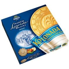 Kolonada - Traditional Hazelnut wafers- 2pcs (400g)    I got these on my work trip to Marianske Lazne!