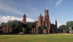 """The Smithsonian Castle.  One of several museums on """"The Mall"""" in Washington D.C. that are collectively referred to as The Smithsonian Museums."""