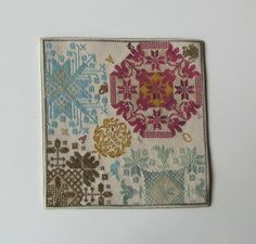 Barbara Bernard. A Token of Love. - I love the colors of this one. - have the pattern.