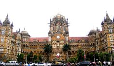 Chhatrapati Shivaji Terminus Built in Gothic Indian Architecture