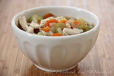 Add biscuit dough (about 30 minutes before serving) for dumplings- instead of noodles. Crock Pot Slow Cooker, Slow Cooker Chicken, Slow Cooker Recipes, Crockpot Recipes, Soup Recipes, Chicken Kale Soup, Homemade Chicken Soup, Healthy Snacks, Soups