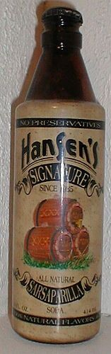 Hansen's Signature Sarsaparilla Soda