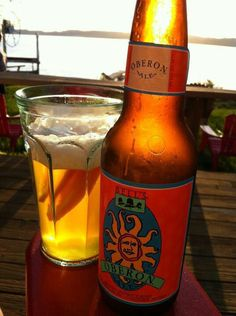 Mmm Bells Oberon, a Michigan summer favorite