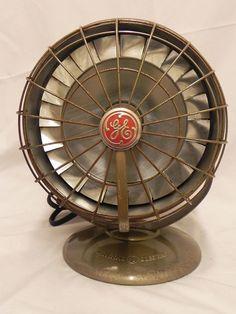 Vintage  General  Electric  Fan  Heater