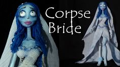 Hey Guys! Hope you're ready for some halloween tutorials :) Starting with a polymer clay doll inspired by Emily from Tim Burton's ''the corpse bride'' - Hope...