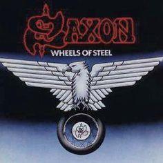 """L'album dei #Saxon intitolato """"Wheels of steel"""". Edizione rimasterizzata con bonus track inedite e materiale esclusivo!"""
