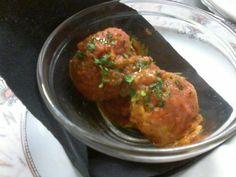 Aspettando l'ora di cena stuzzichiamo l'appetito con le polpette di Baccalà! 😀😊😉😋