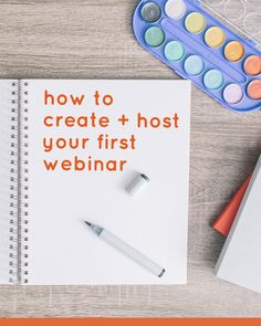 a start to finish checklist for hosting your first webinar or Google+ hangout