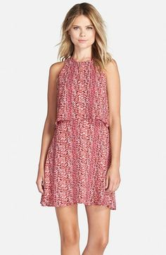 Charles Henry Popover Fit & Flare Dress available at #Nordstrom