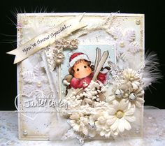 Image used: In The Snow Ski Tilda All deets on my blog. Hop on over and have a peek. http://scrappyjandesigns.blogspot.com/2013/11/in-snow-ski-tilda-white-on-white.html